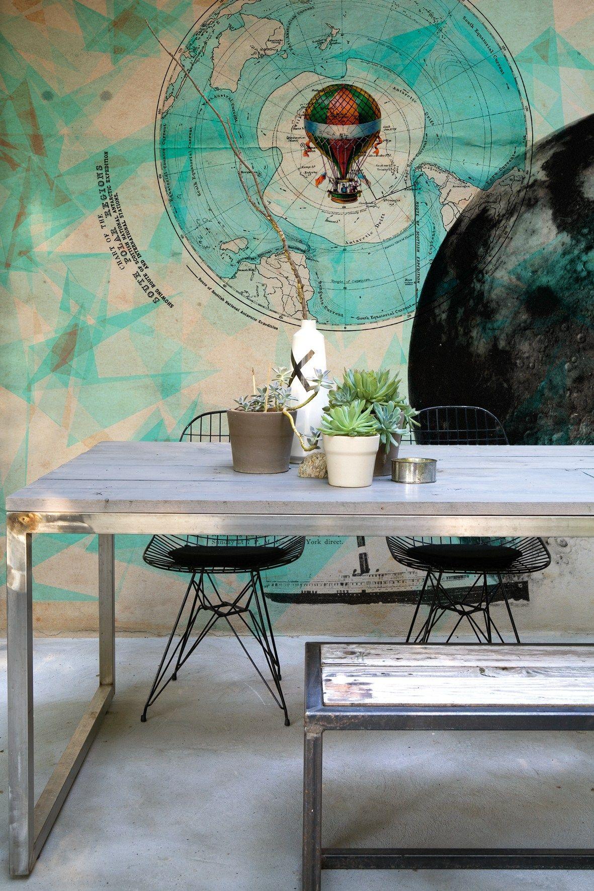 man on the moon by wall dec design wladimiro bendandi christian benini. Black Bedroom Furniture Sets. Home Design Ideas