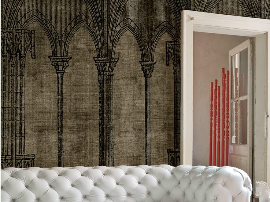 trompe l 39 oeil flamboyant by wall dec design christian benini. Black Bedroom Furniture Sets. Home Design Ideas