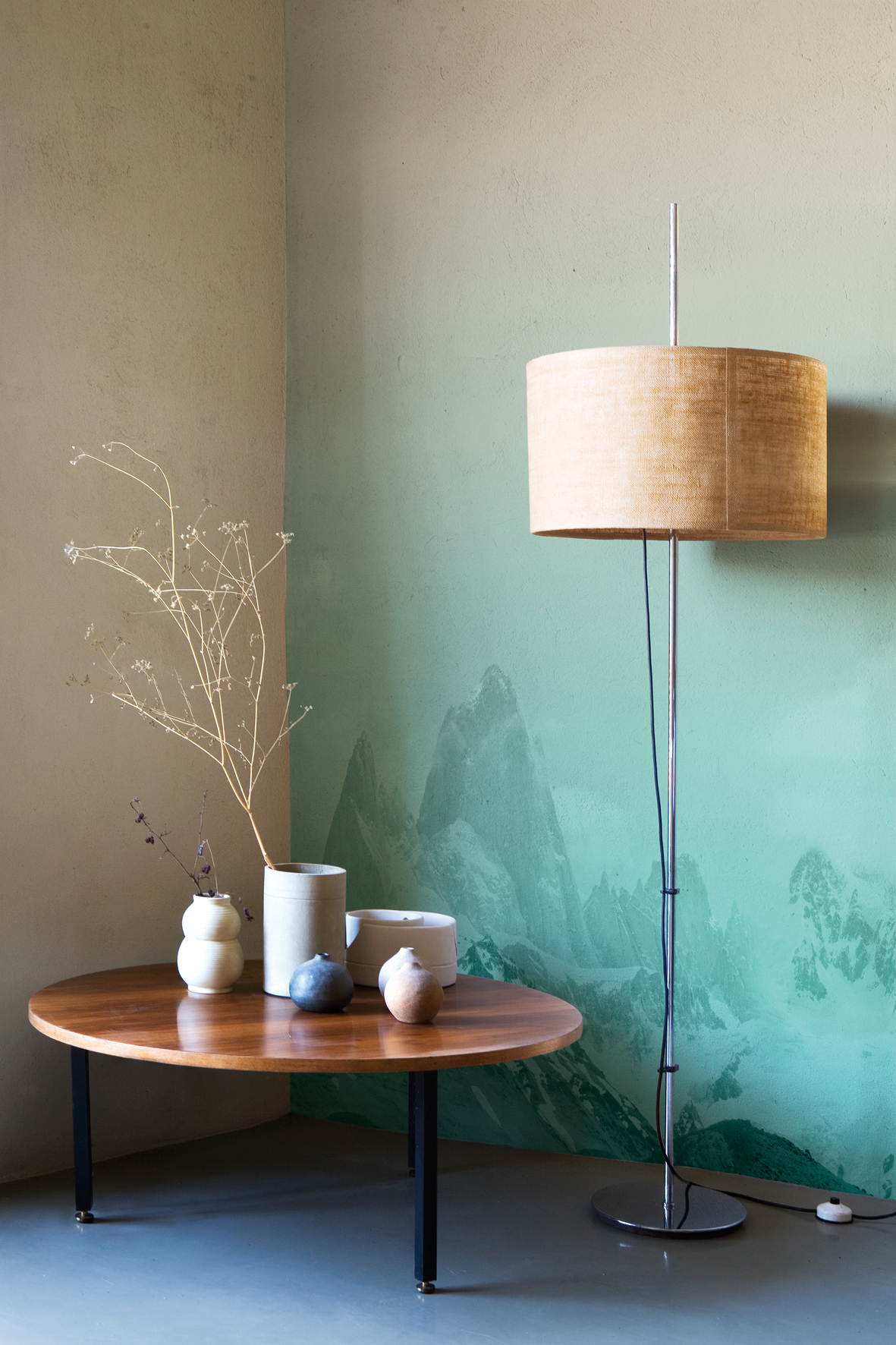 panoramic wallpaper picos do mundo life 13 collection by wall dec design serena confalonieri. Black Bedroom Furniture Sets. Home Design Ideas