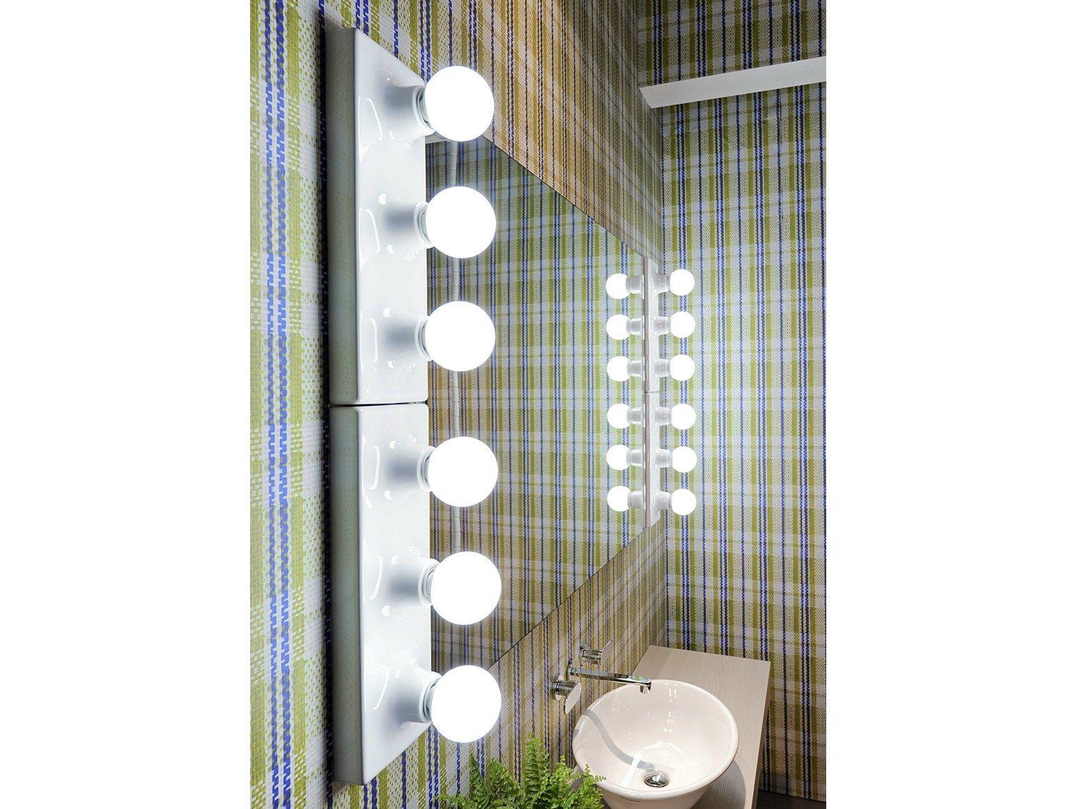 Make up specchio bagno by ceramica flaminia design paola navone - Specchio make up ...