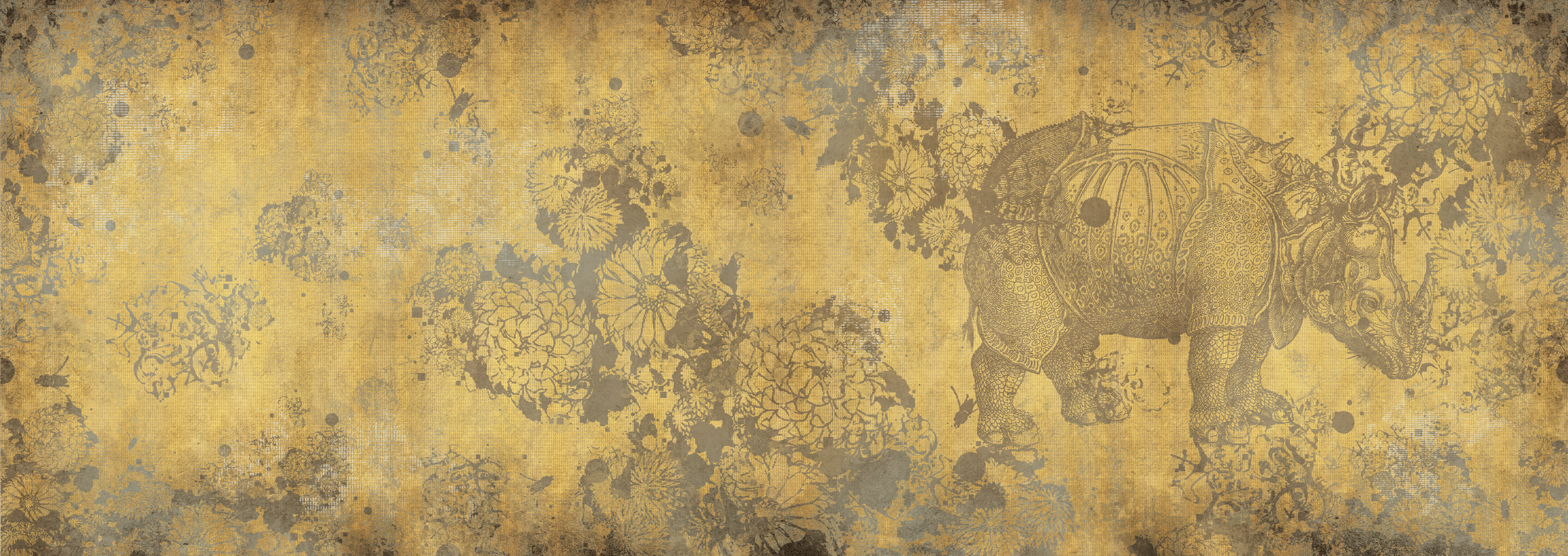 Papel pintado wunderkammer by wall dec dise o lorenzo de for Papel pintado ka internacional