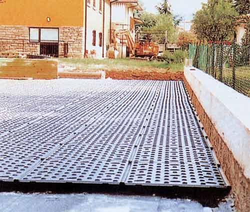 Drenaje para jardines drain floor by project for building for Drenaje de jardin