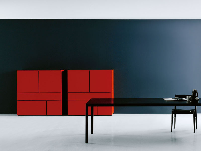 Mueble modular de pared modular modern by porro dise o for Porro muebles