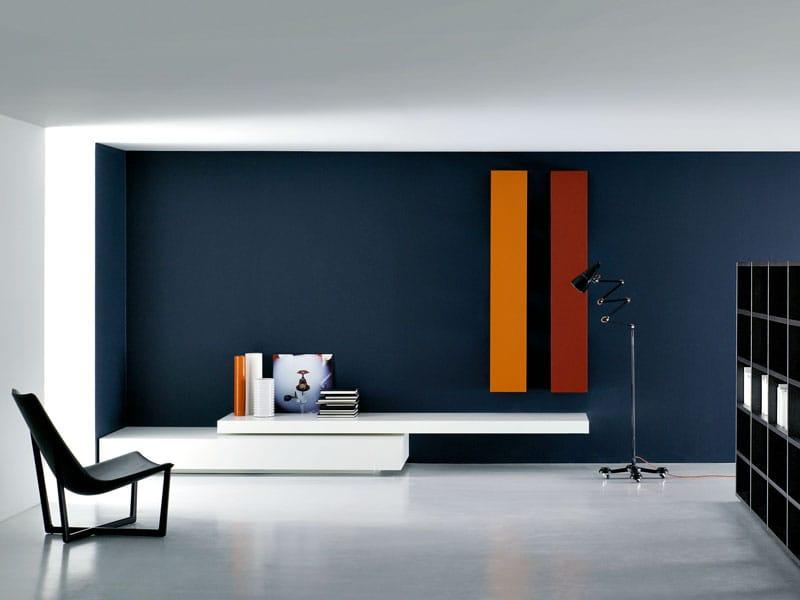 Modulare wohnwand modern by porro design piero lissoni for Designer wohnwand modern