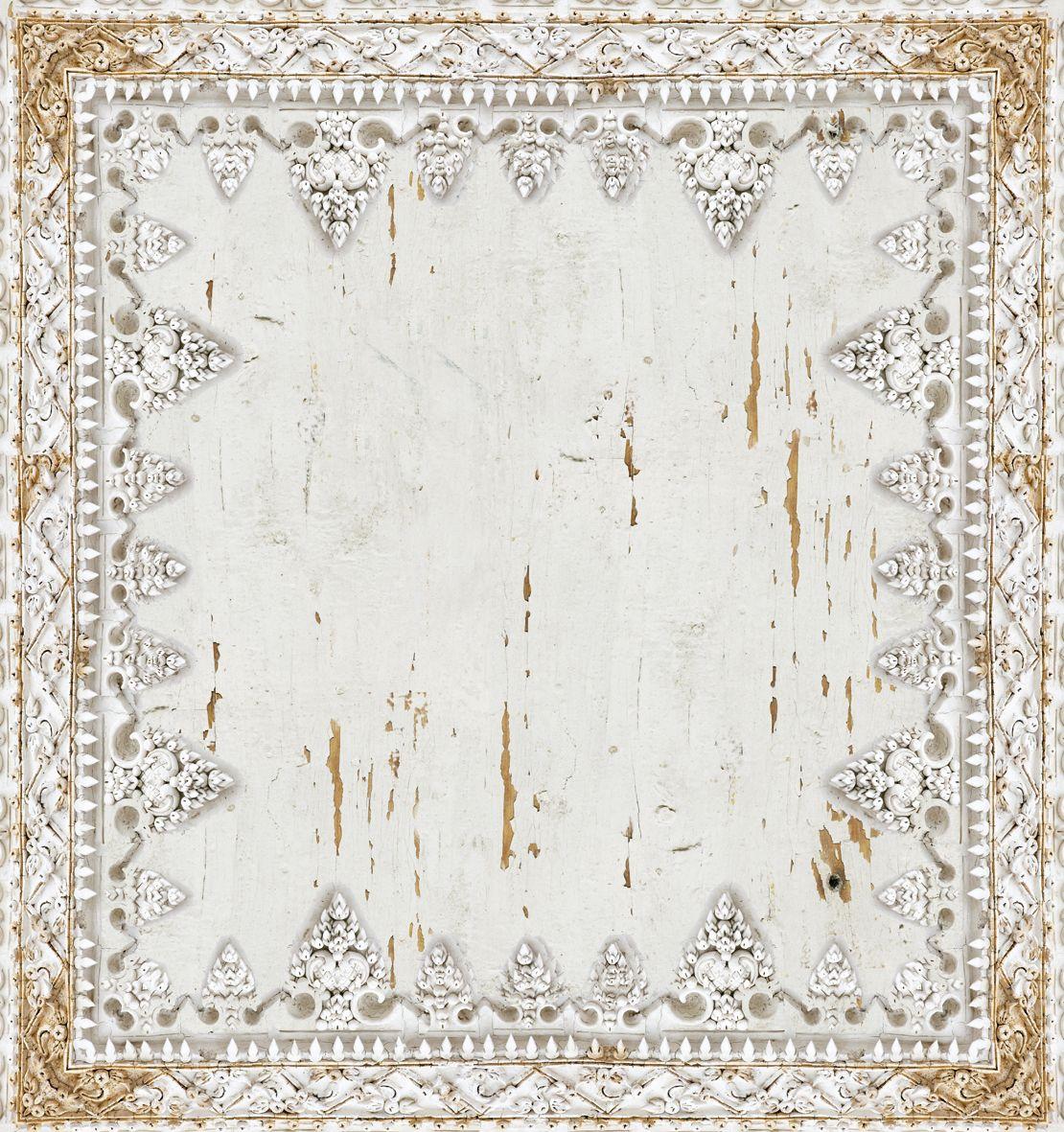 Papier peint aspect mur pour salle de bain dharma style by for Papier peint pour salle de bain