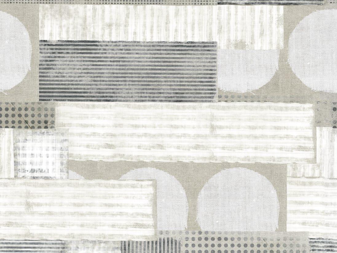 Papel pintado geom trico con motivos para ba os gestalten for Papel pintado para banos