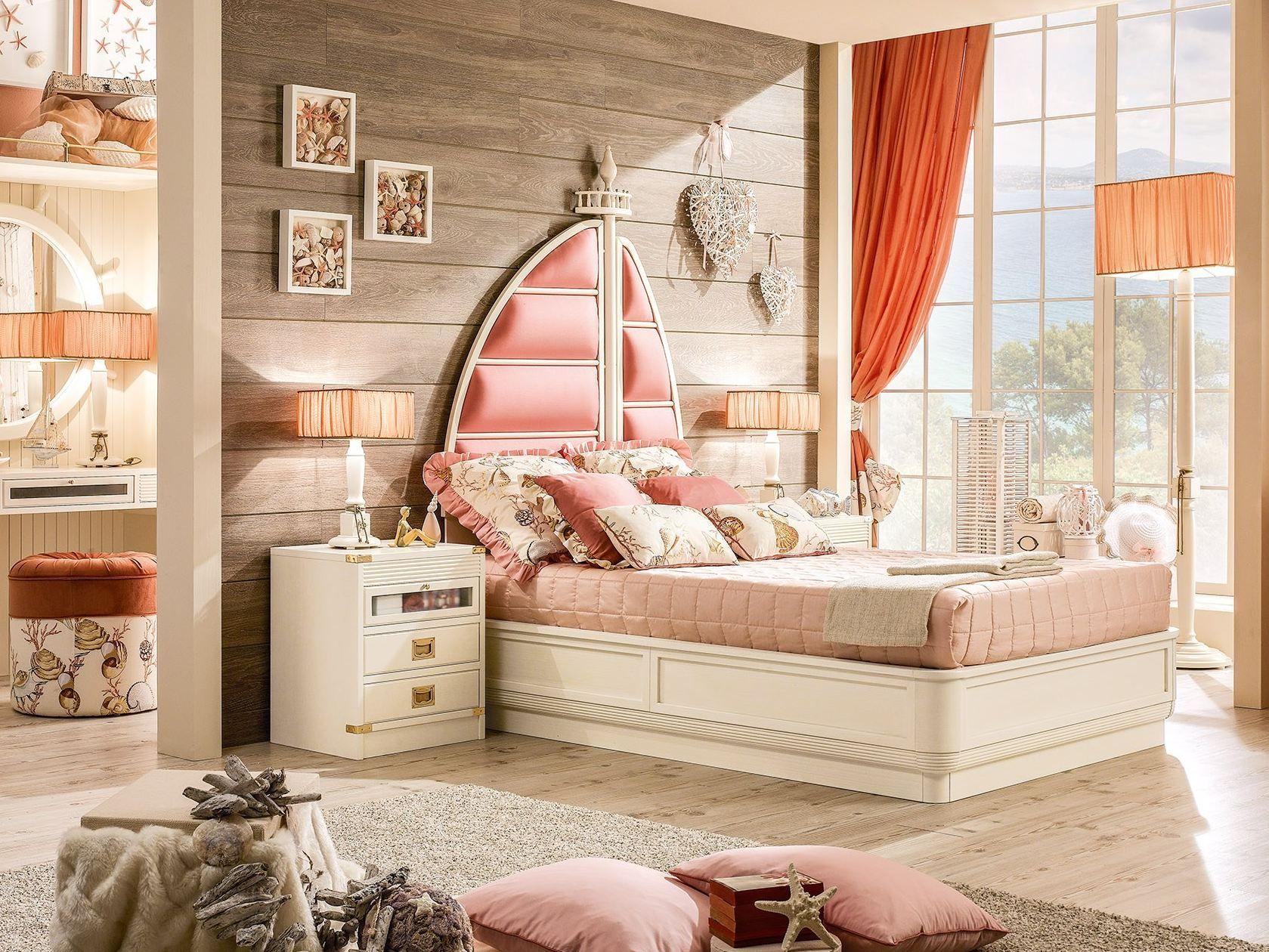 Ariel cama contenedor by caroti - Spalliera letto imbottita ...