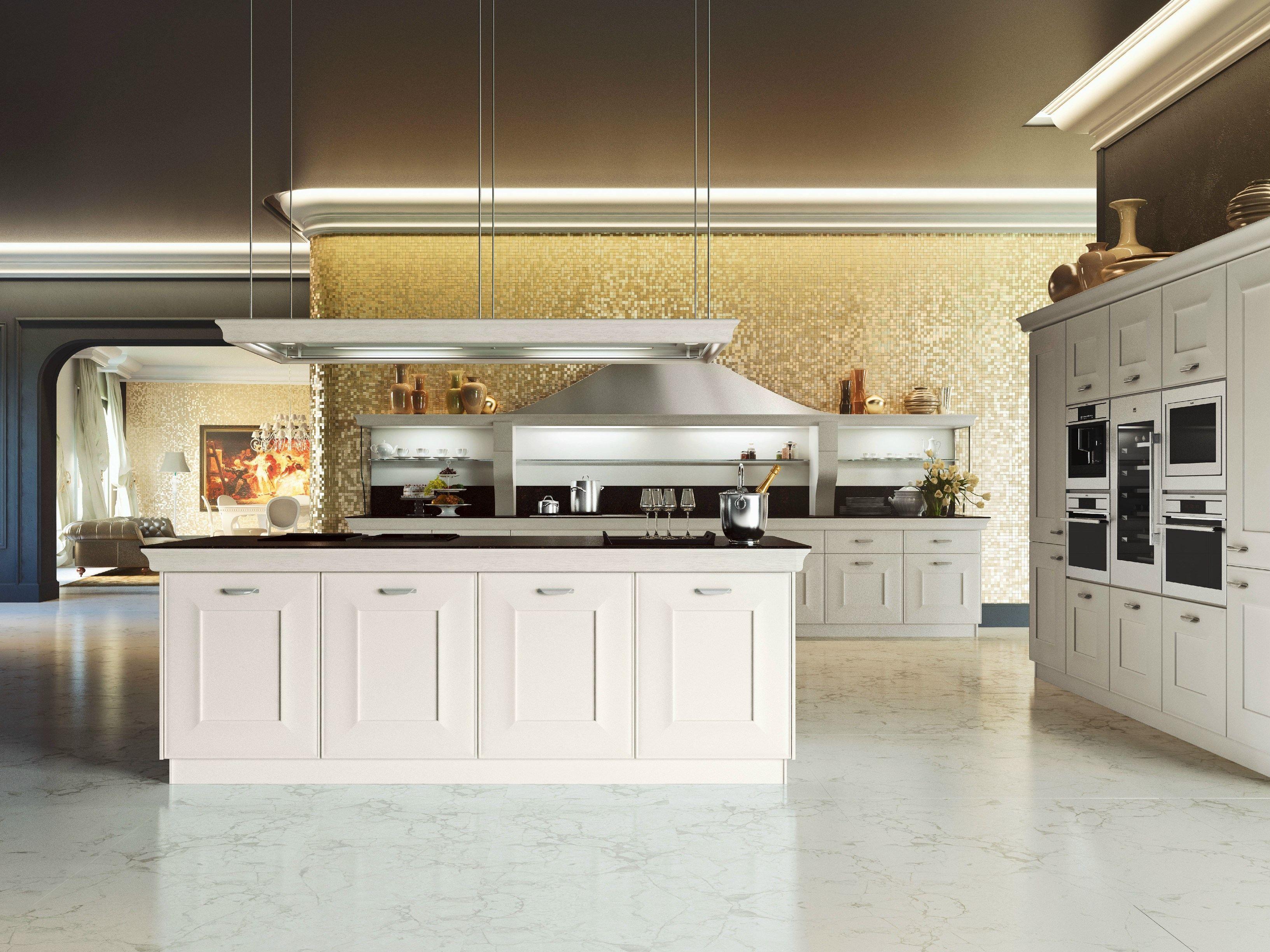 Classica Con Isola Centrale. Cucine Classiche Con Isola Centrale #926F39 3266 2449 Cucine Classiche Con Isola