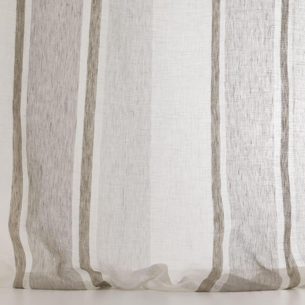 Tejido lavable de lino a rayas para cortinas lindos by dedar - Tejidos de cortinas ...