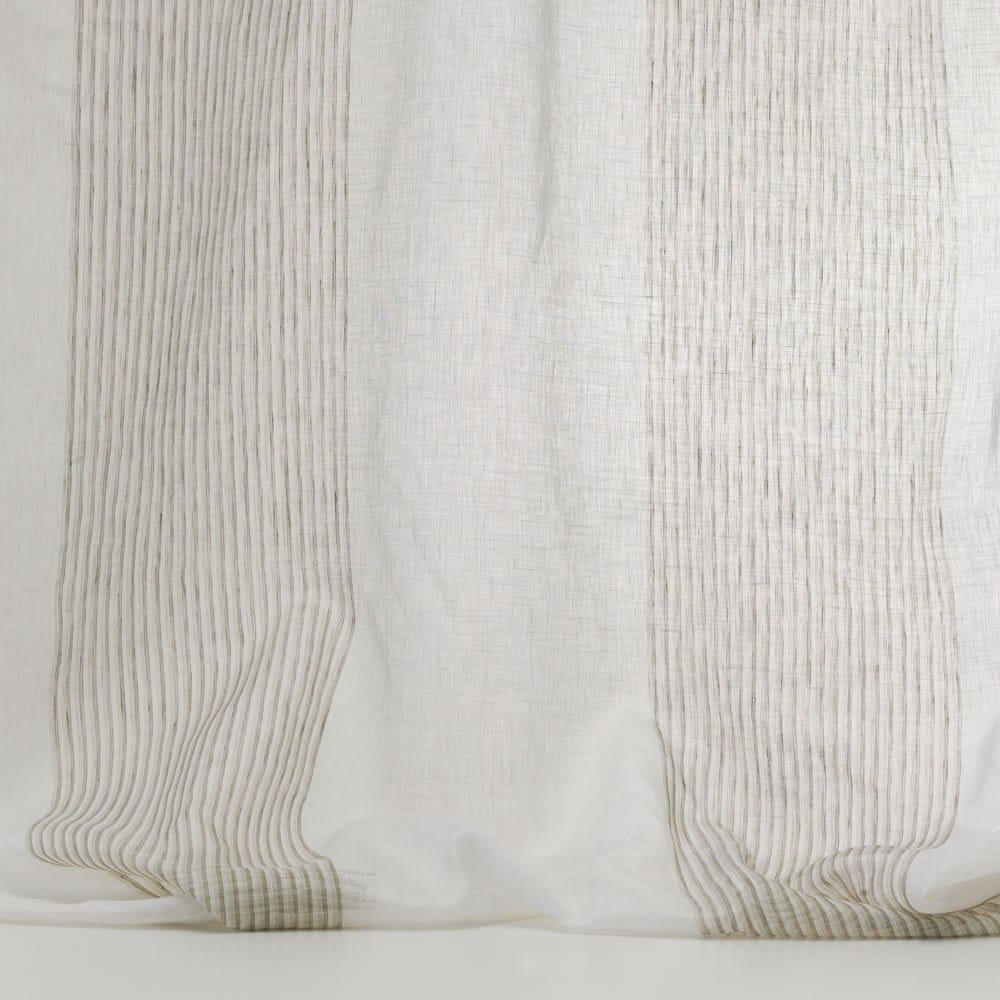 tissu lavable voile en lin pour rideaux linnea by dedar. Black Bedroom Furniture Sets. Home Design Ideas