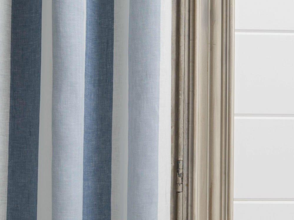 tessuto a righe lavabile in lino per tende zephyr dedar. Black Bedroom Furniture Sets. Home Design Ideas