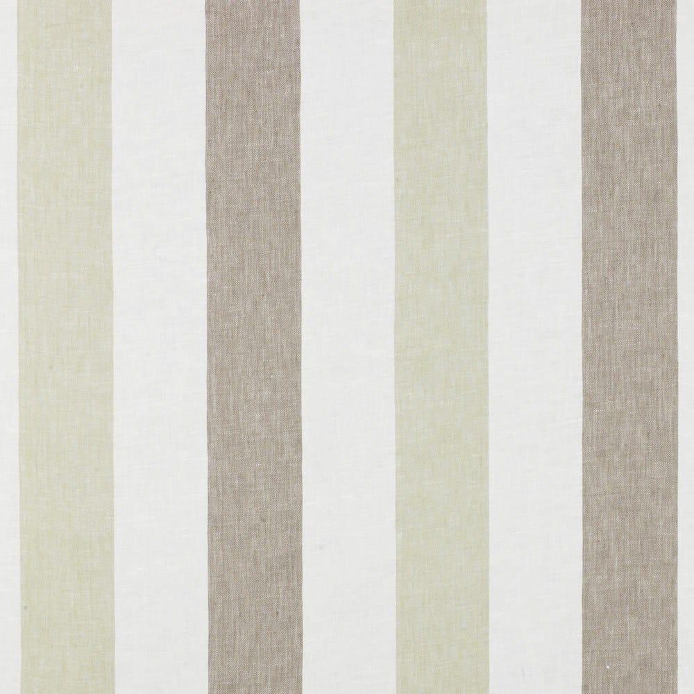 Tessuto a righe lavabile in lino per tende zephyr by dedar for Tende a righe verticali