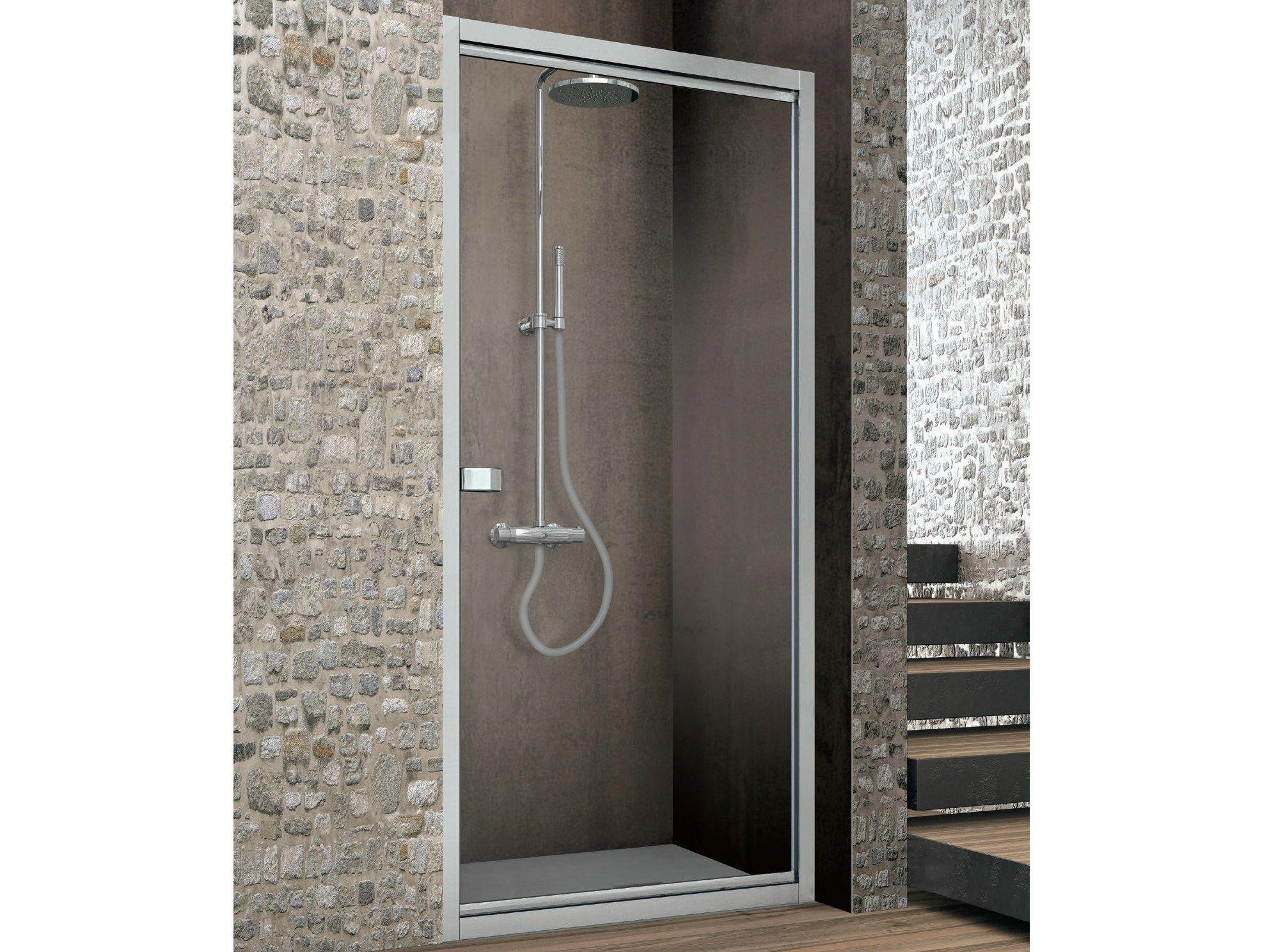 Box doccia con porta con perno mobile ASTER-T by GRUPPO GEROMIN