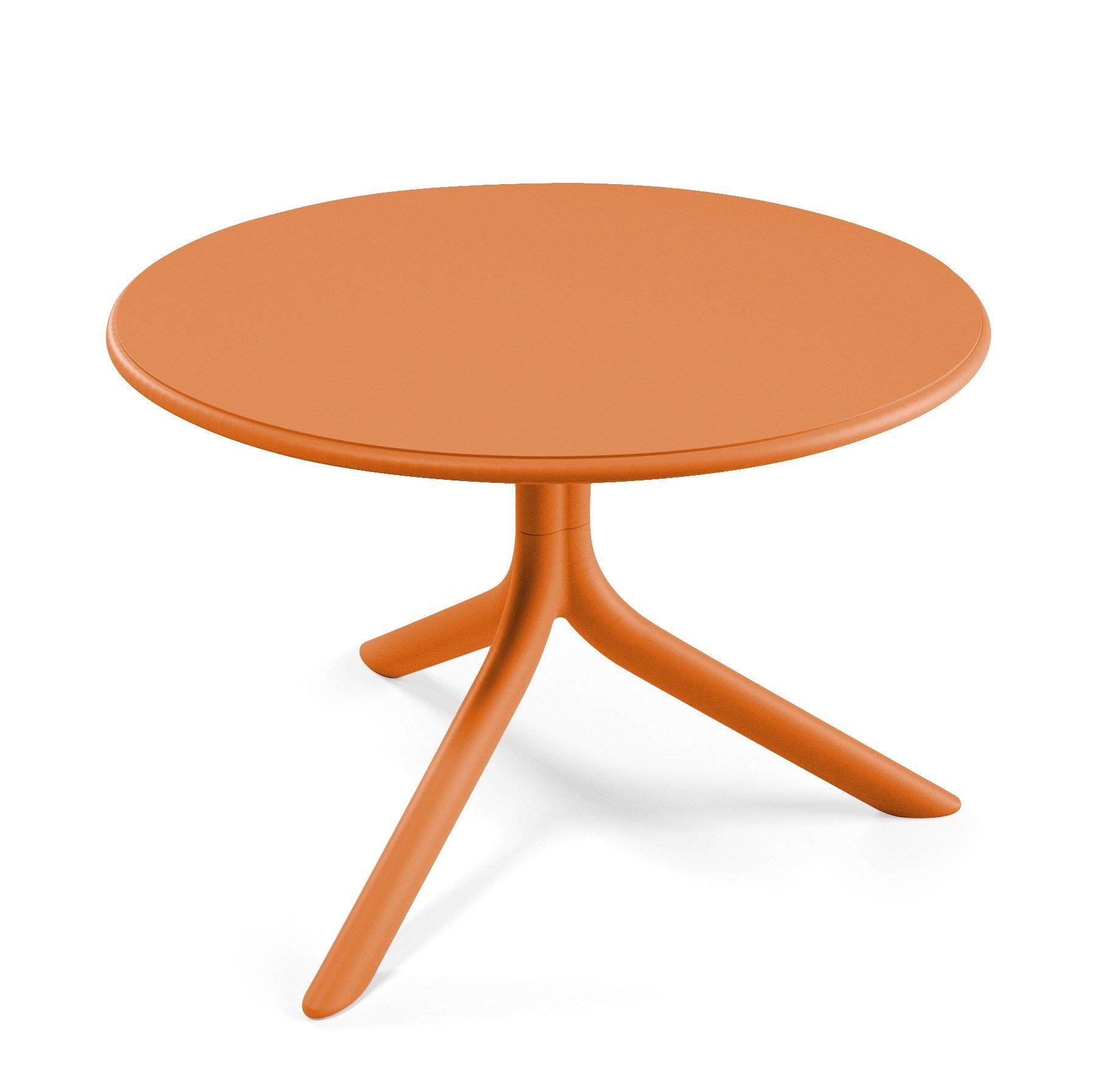 Low Plastic Coffee Table: LOW GARDEN SIDE TABLE SPRITZ MINI