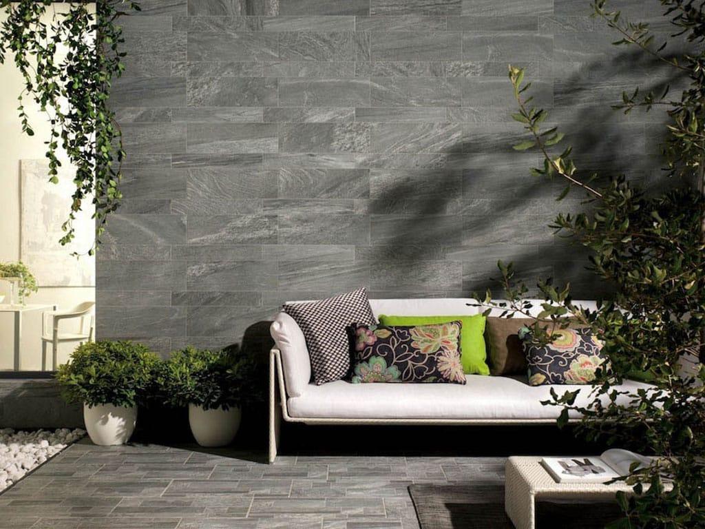 Revestimiento de pared de gr s porcel nico todo masa for Porcelanico imitacion piedra
