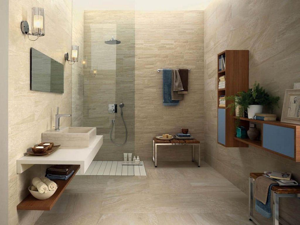 bagno pietra beige : Piastrelle Bagno Effetto Pietra : ... tutta massa effetto pietra ...