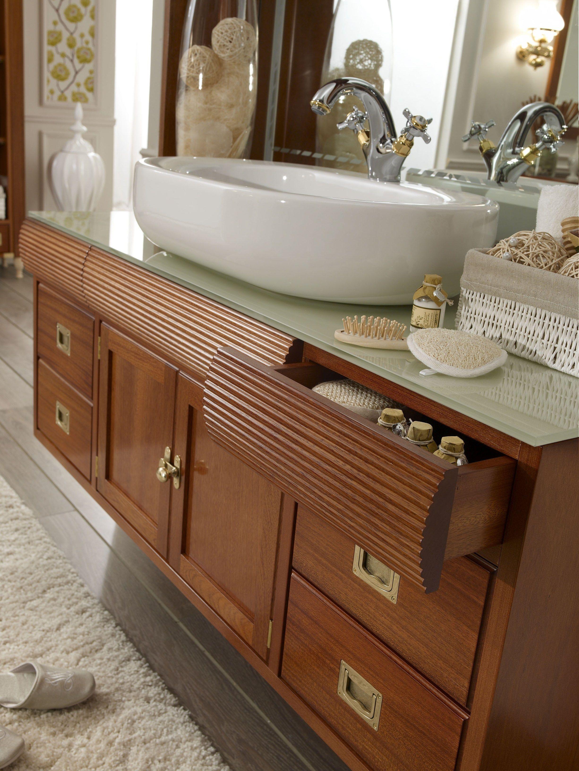 Frame mobile bagno by caroti - Mobile legno bagno ...