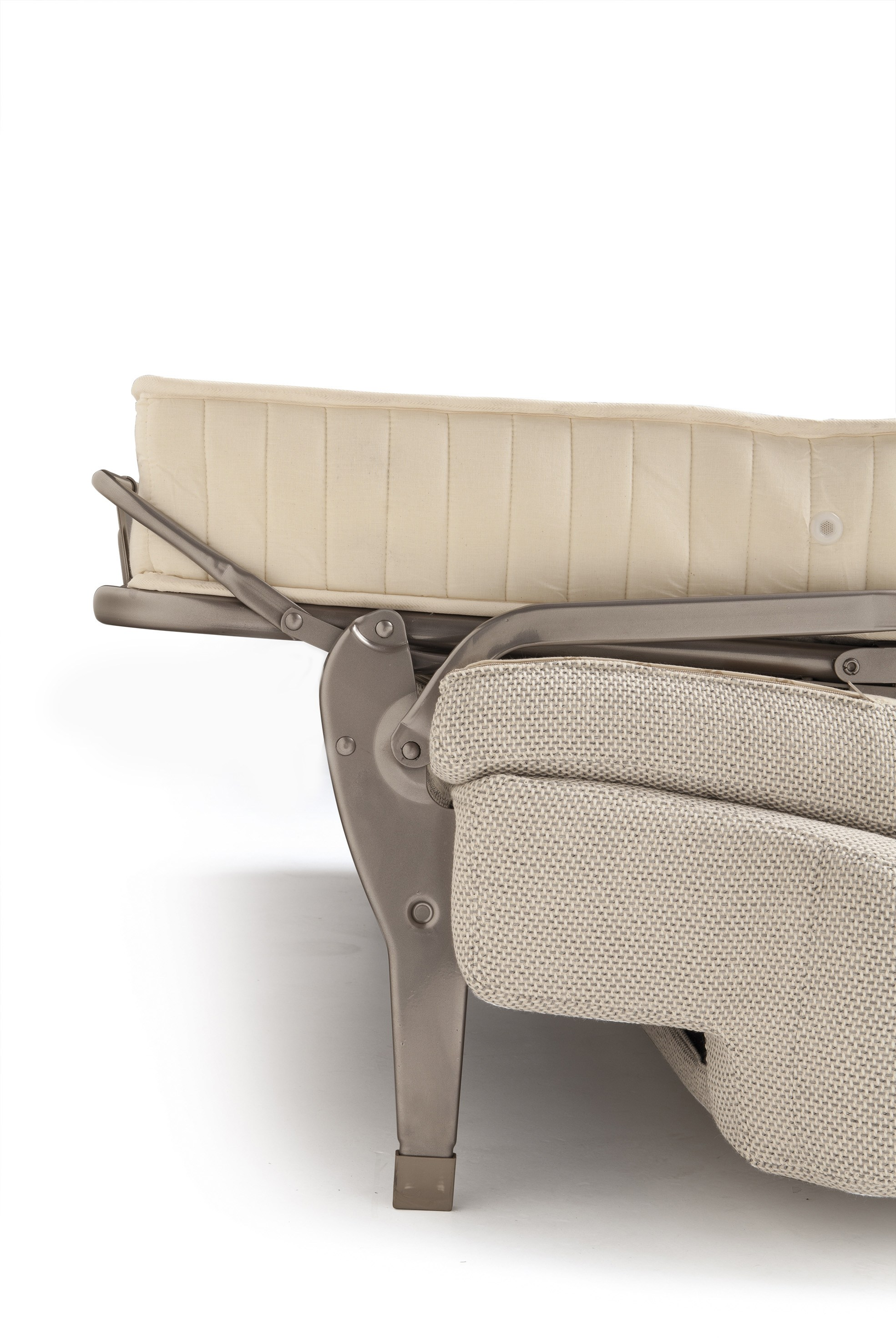 Sofa bed with removable cover ellis 5 by milano bedding for Milano bedding