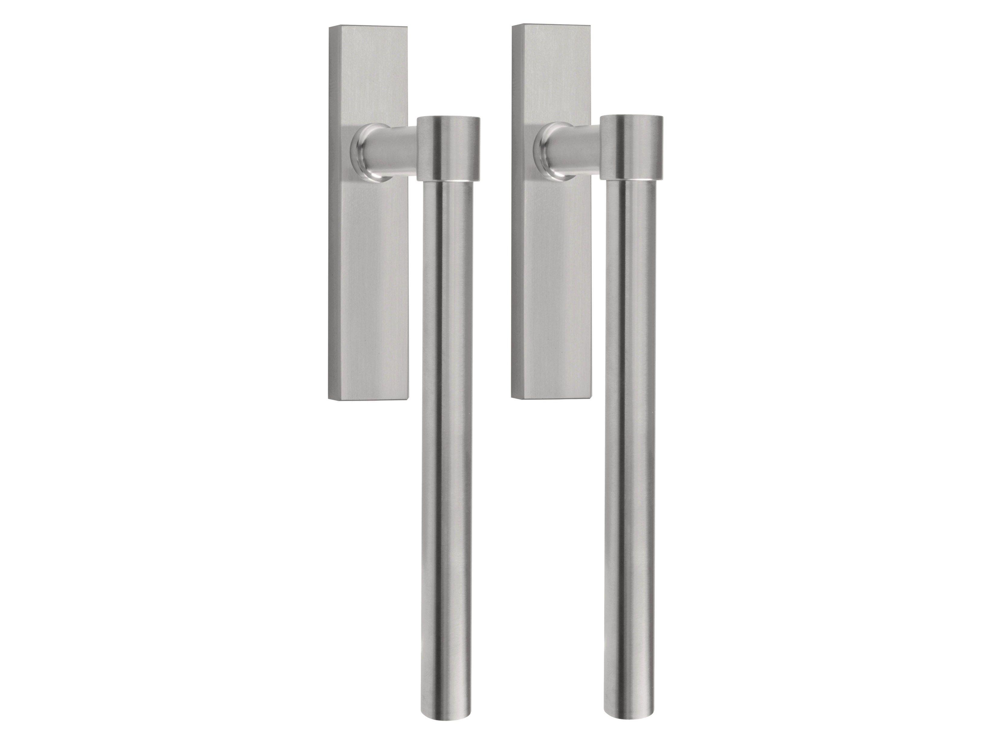 #403F3C Puxador de aço inox para janela deslizante ONE Puxador para janela  1390 Protocolos De Janelas Deslizantes