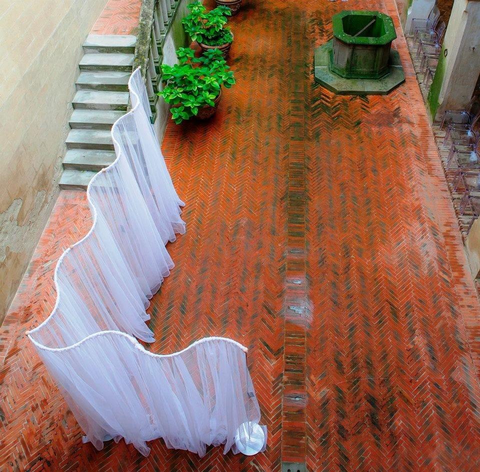 Fabric Room Divider Ondina By Grigolite