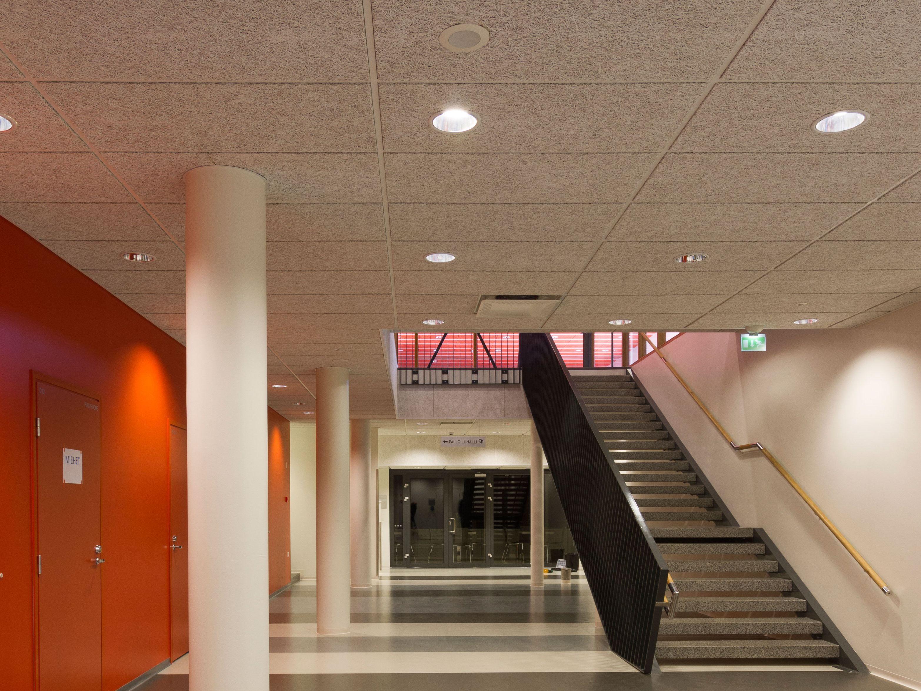 Pannelli per controsoffitto fonoassorbente in cemento legno ...