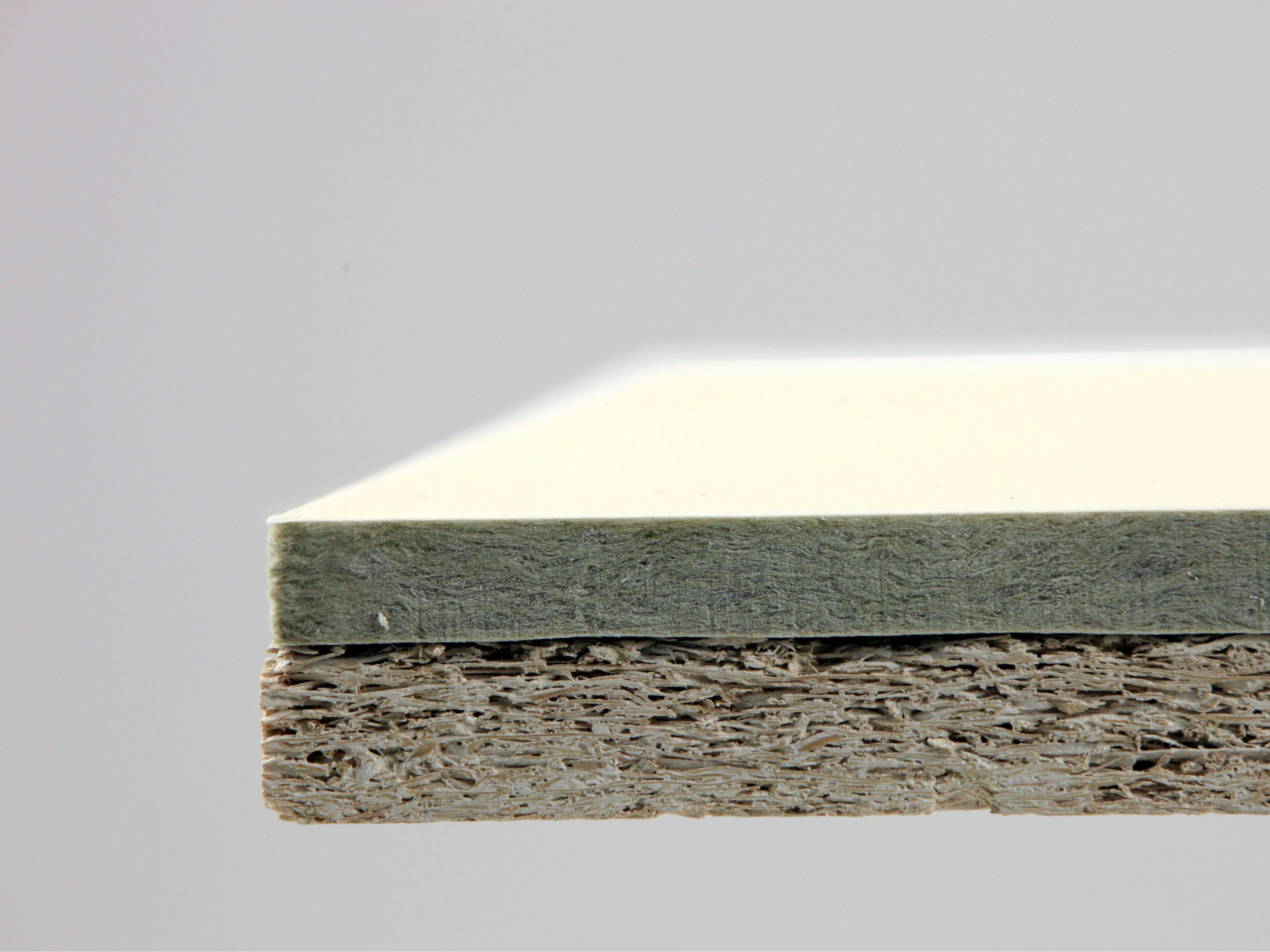 Faux Plafond Bois Acoustique : Faux-plafond acoustique absorbant en b?ton-bois TROLDTEKT PLUS by