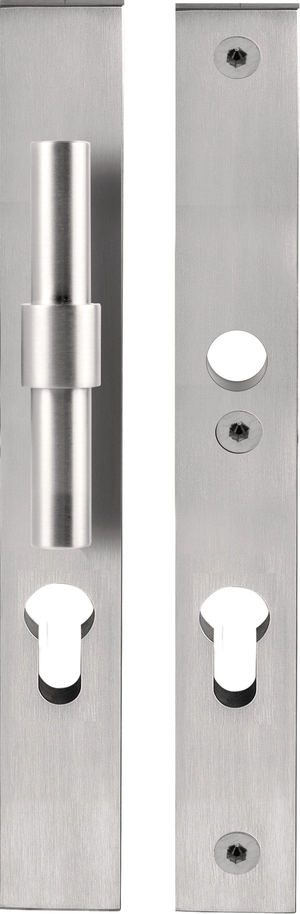 poign e de porte en acier inoxydable pour portes d 39 entr e. Black Bedroom Furniture Sets. Home Design Ideas