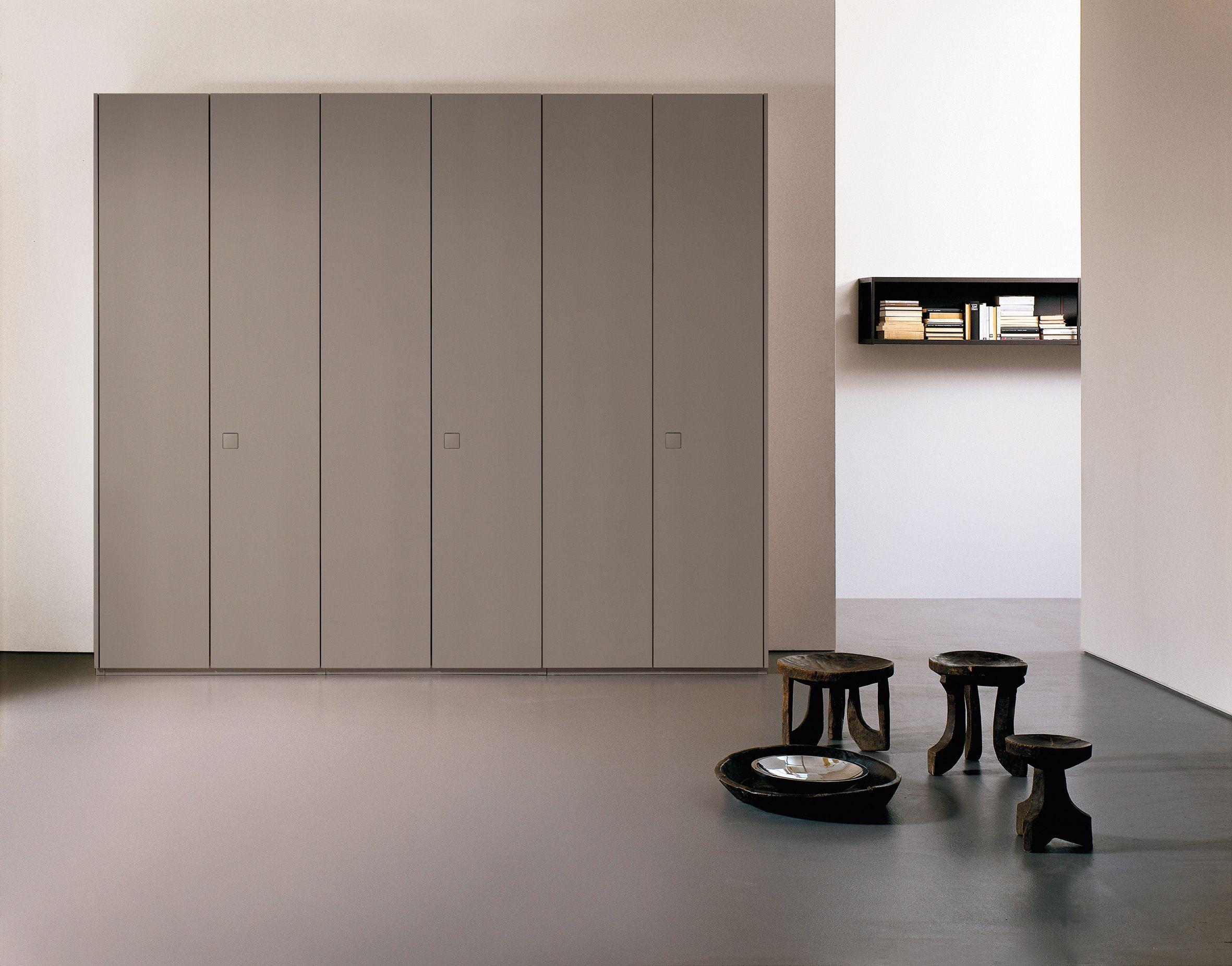 Armario modular de madera ATLANTE SEVENTY by EmmeBi diseño Pietro Arosio