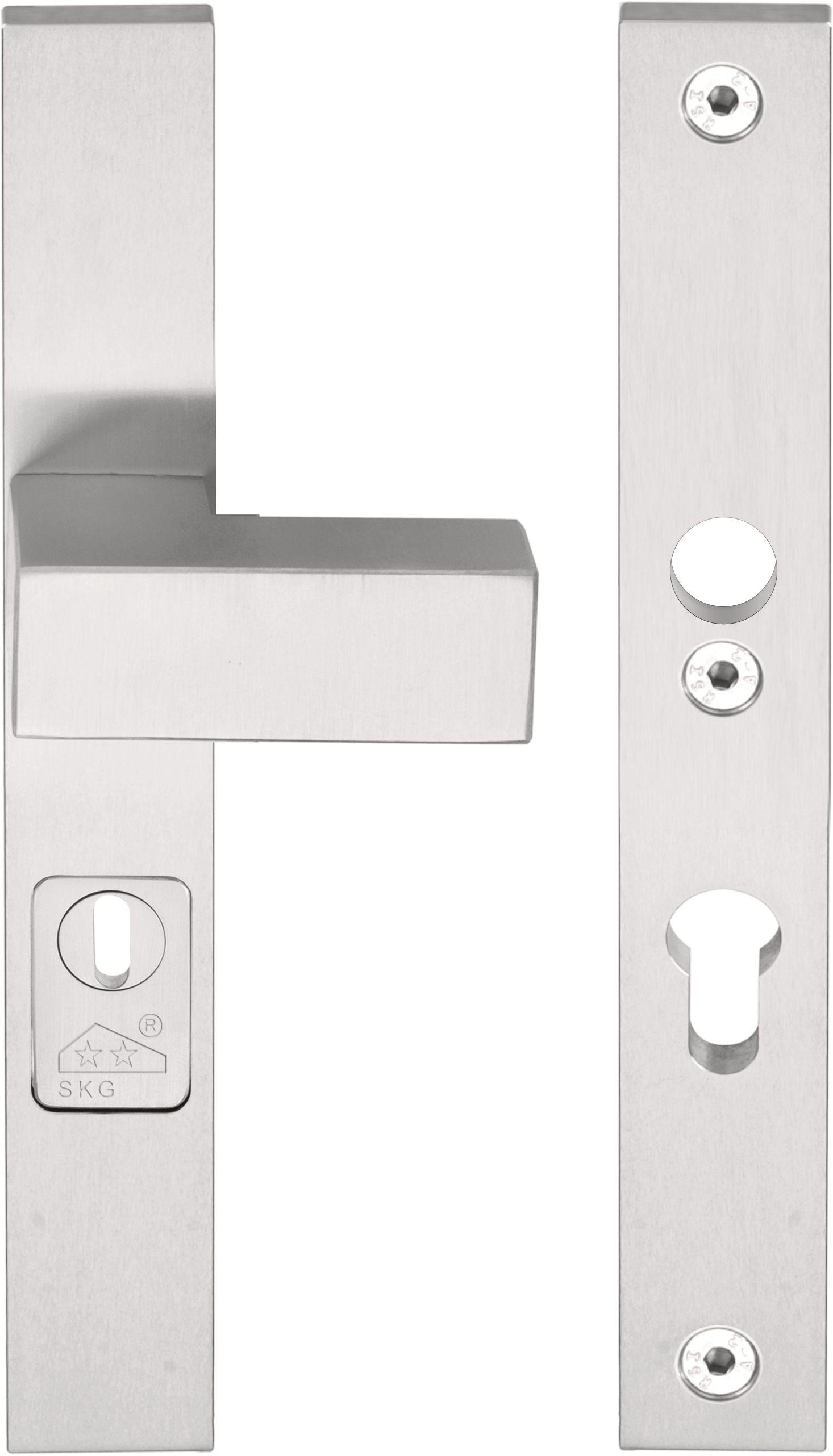 square poign e pour portes d 39 entr e by formani holland b v. Black Bedroom Furniture Sets. Home Design Ideas