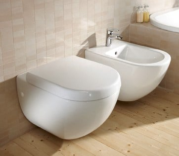 subway bidet sospeso by villeroy boch. Black Bedroom Furniture Sets. Home Design Ideas