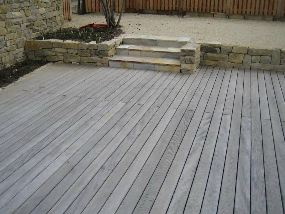 Suelos de madera de pino douglas para terrazas kollin by - Suelo terraza madera ...