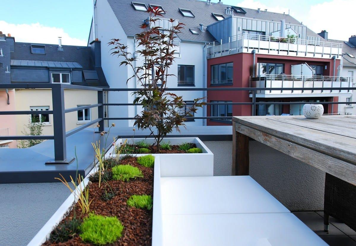 Blumenkasten Aus Faserzement Icb By Image'in Design Fabien Joly Designer Pflanzkubel Faserzement