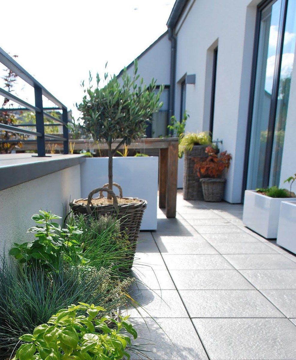 Blumenkasten Aus Faserzement Icb By Image'in Design Fabien Joly Pflanzkubel Faserzement Balkon