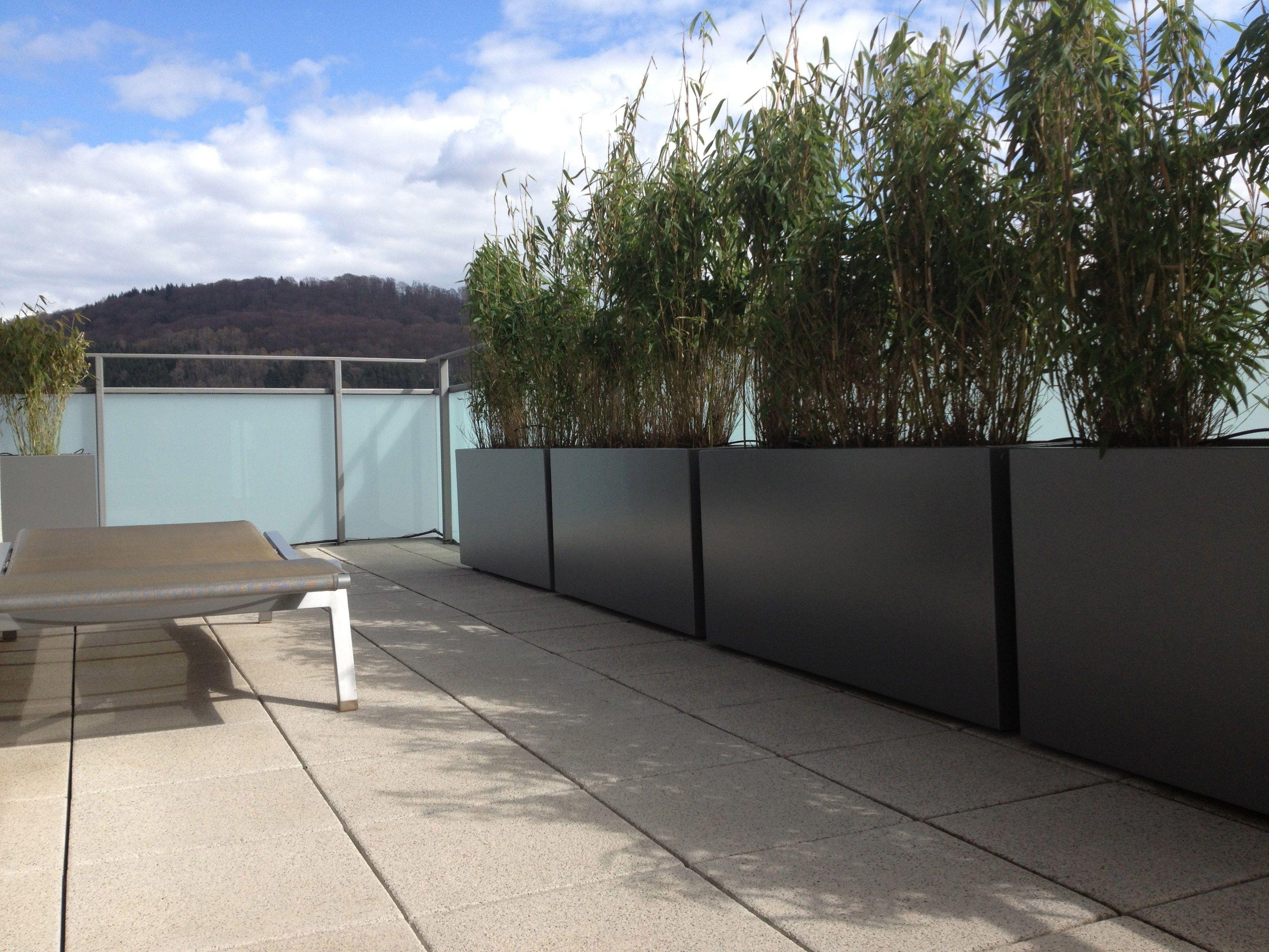 Blumenkasten Aus Faserzement Irf By Image'in Design Fabien Joly Pflanzkubel Faserzement Balkon