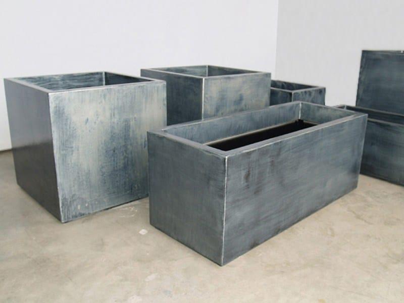 jardini re en fibre ciment bacs patine zinc by image 39 in by cr ation cjcj design fabien joly. Black Bedroom Furniture Sets. Home Design Ideas