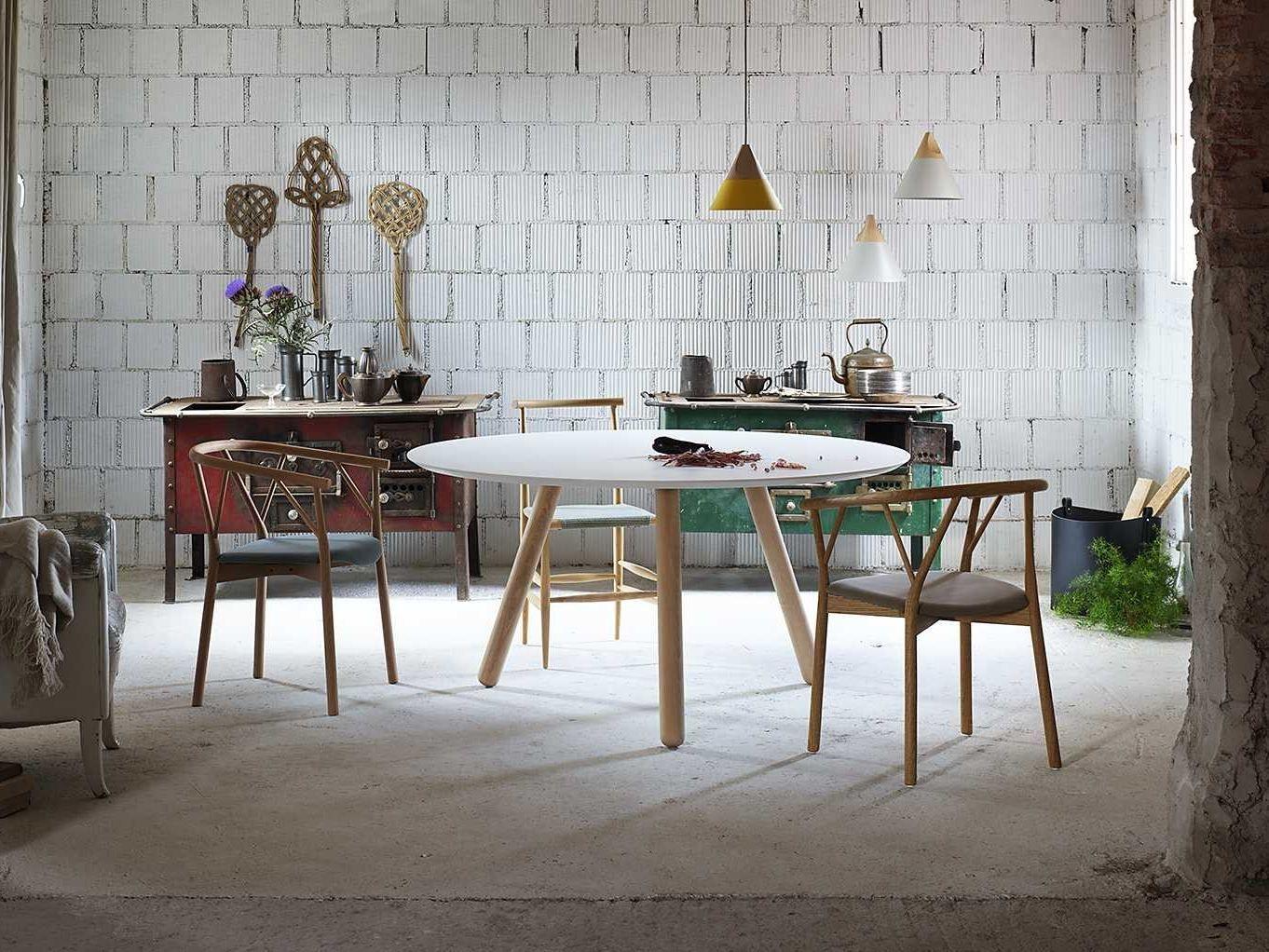 Pixie round table by miniforms design oggimai studio - Salle a manger maison du monde ...