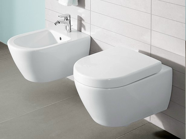 subway 2 0 wall hung bidet by villeroy boch. Black Bedroom Furniture Sets. Home Design Ideas
