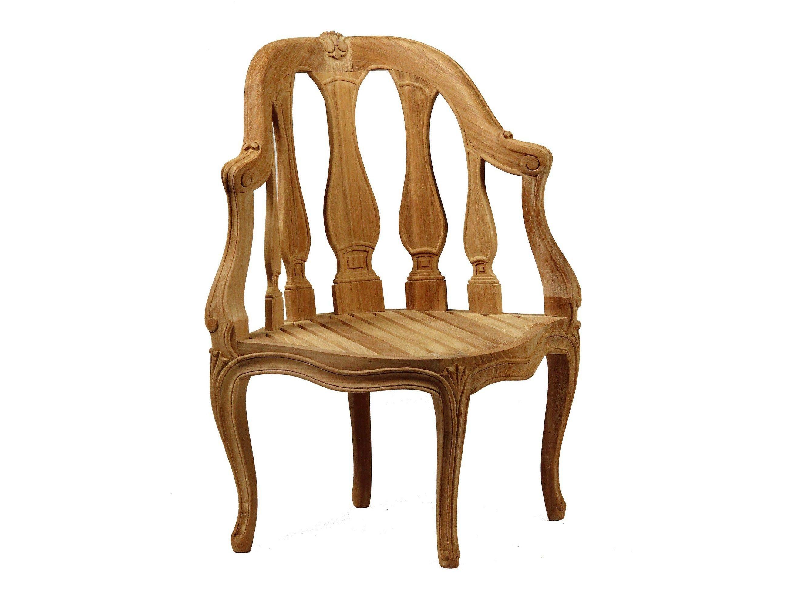 petit fauteuil de jardin en teck collection lupin by astello. Black Bedroom Furniture Sets. Home Design Ideas