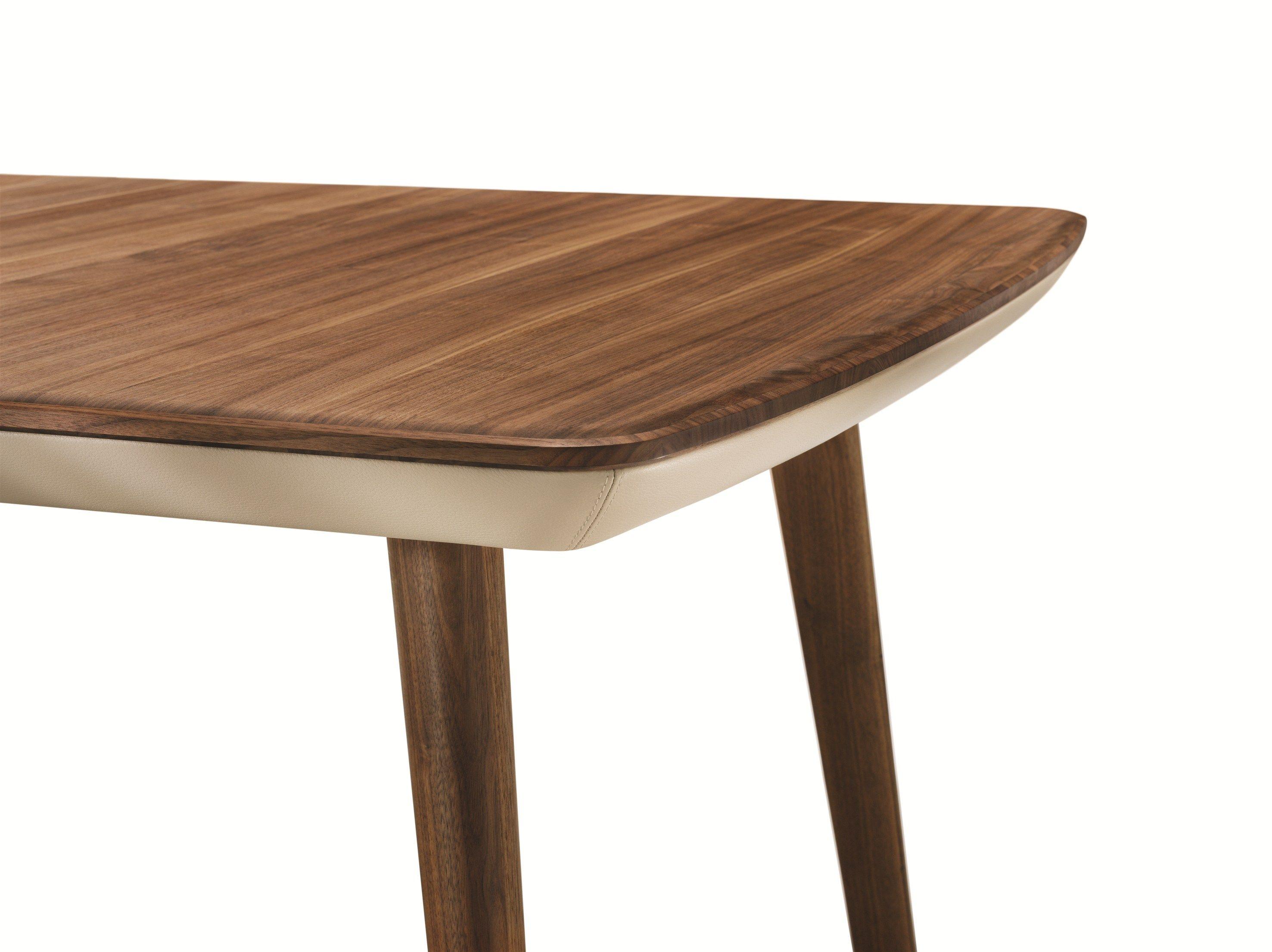 flaye rechteckiger tisch by team 7 nat rlich wohnen design jacob strobel. Black Bedroom Furniture Sets. Home Design Ideas