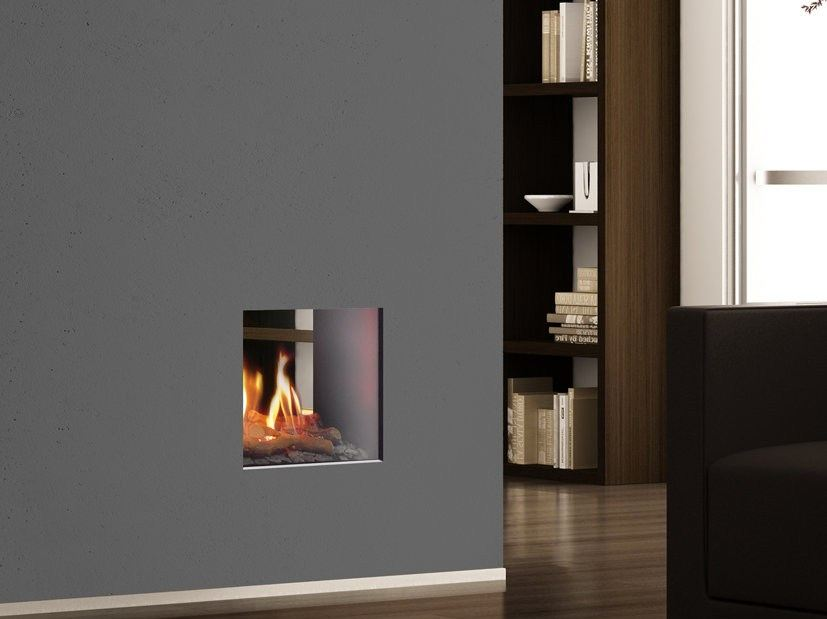 gas fireplace insert portofino double sided fireplace insert