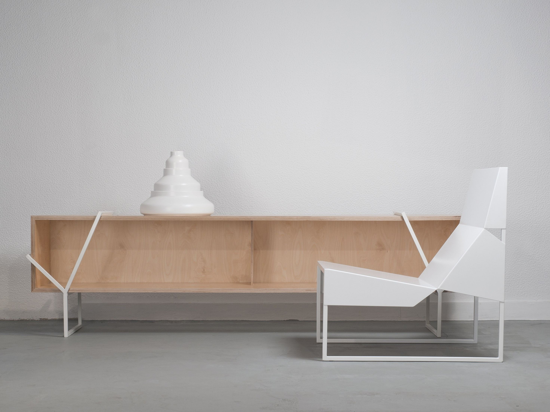 Sideboard aus spanplatte laÇo k by branca lisboa design marco ...