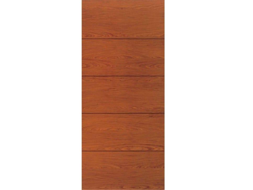 Panel para puertas blindadas de chapada en madera l156 for Ver precios de puertas de madera