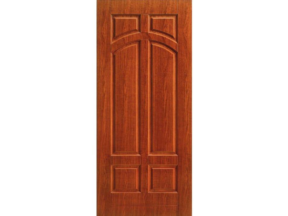 Panneau en placage de bois pour porte d 39 entr e pan167 for Revetement porte d entree