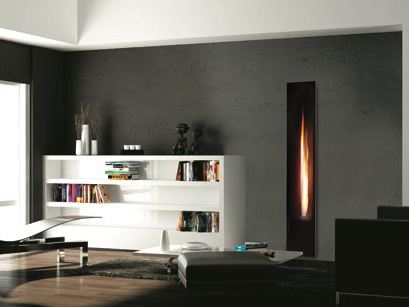 insert de chemin e gaz mirror flame by italkero. Black Bedroom Furniture Sets. Home Design Ideas
