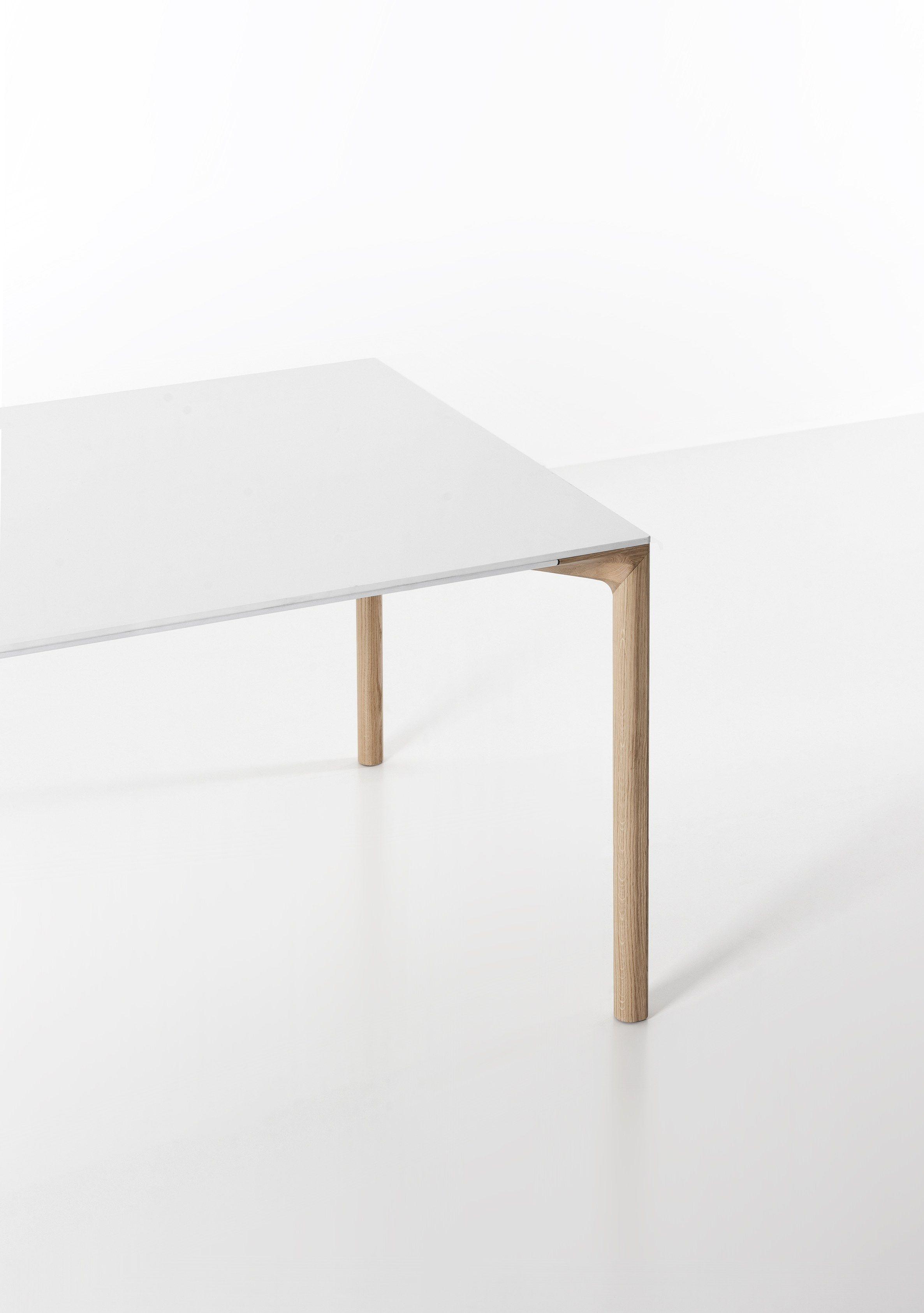 Rechteckiger tisch boiacca wood by kristalia design for Tisch design wood