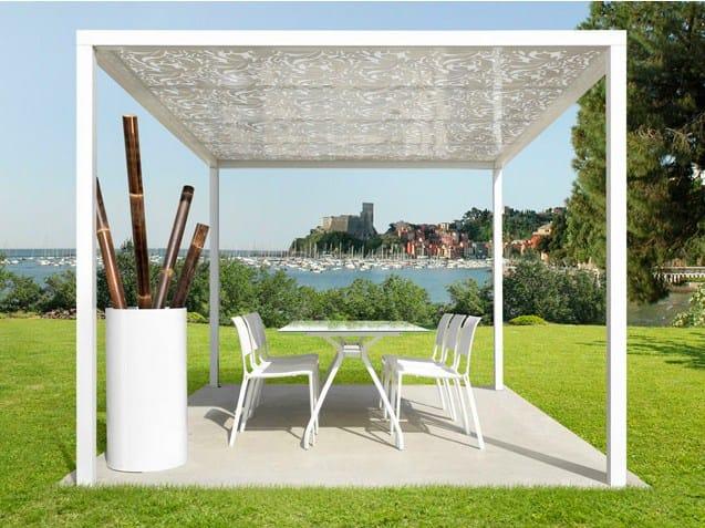 gartenpavillon aus polycarbonat formentera by cagis. Black Bedroom Furniture Sets. Home Design Ideas