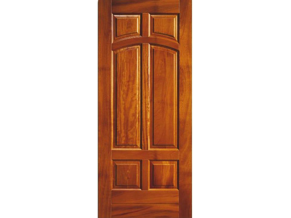 Pannello di rivestimento per porte blindate in iroko bi141 - Pannello decorativo per porte ...