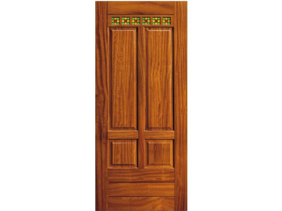 Pannello di rivestimento per porte blindate in ciliegio - Pannello decorativo per porte ...