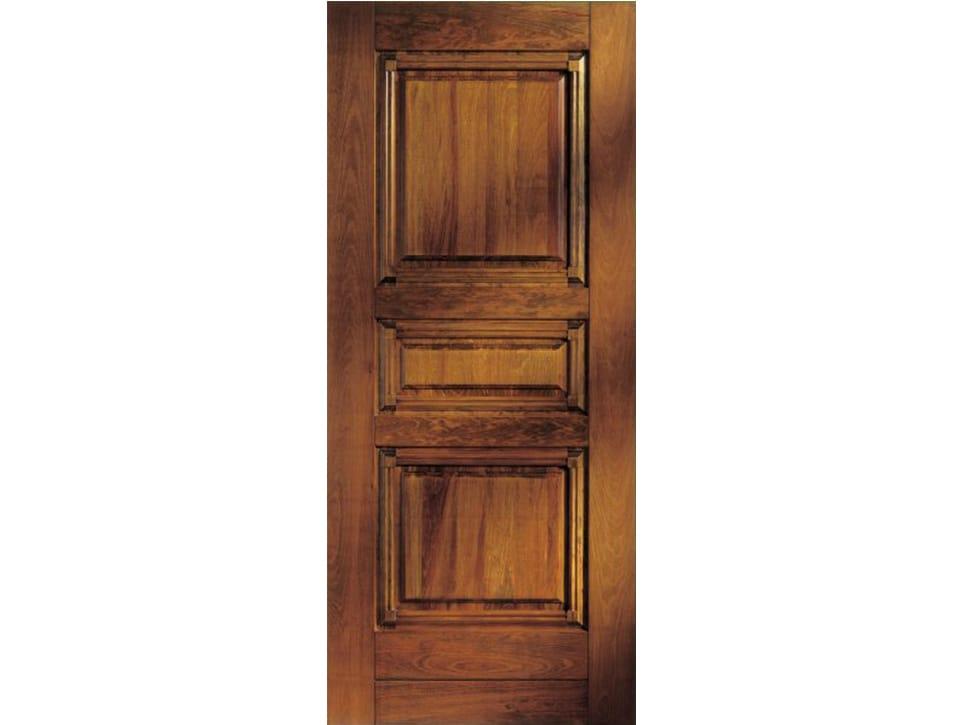 Panneau en bois pour porte d 39 entr e bi148 ligne solid for Revetement porte d entree