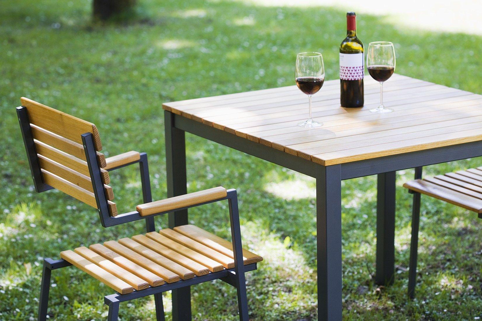 Cool Turbo Robin Garden Table By Sixay Furniture Design Lszl Szikszai Nz  With Gartentisch Eckig Holz